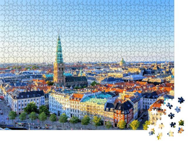 """Puzzle 1000 Teile """"Landschaft von Kopenhagen, Dänemark"""""""