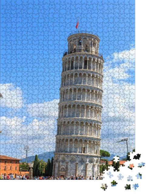 "Puzzle 1000 Teile ""Schiefer Turm von Pisa, Toskana, Italien"""