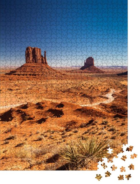 """Puzzle 1000 Teile """"Monument Valley, USA"""""""
