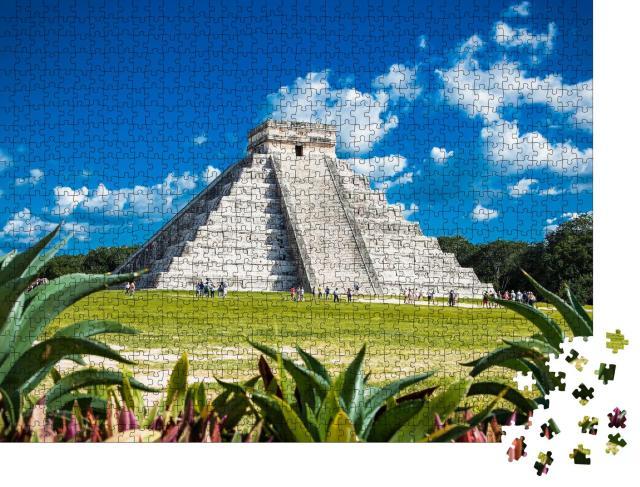 """Puzzle 1000 Teile """"Chichén Itzá in Mexiko"""""""