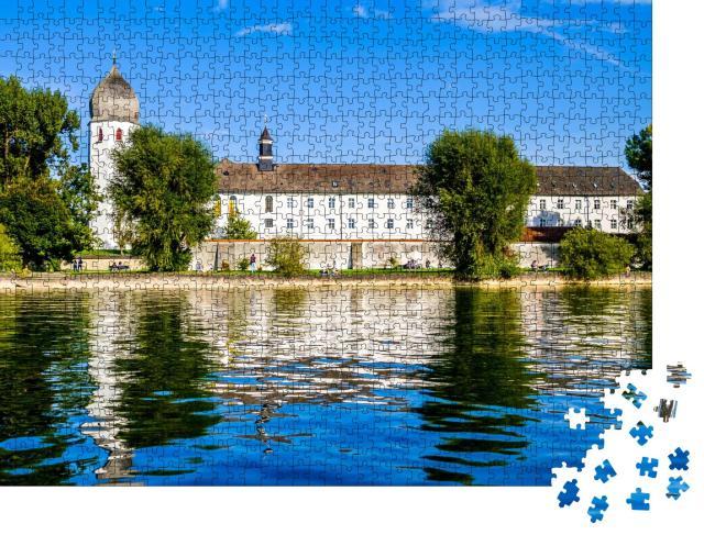 """Puzzle 1000 Teile """"Fraueninsel auf dem Chiemsee, Bayern"""""""