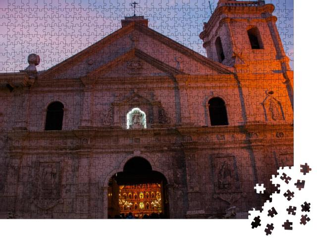 "Puzzle 1000 Teile ""Die Basilica Minore del Santo Nino, Philippinen"""