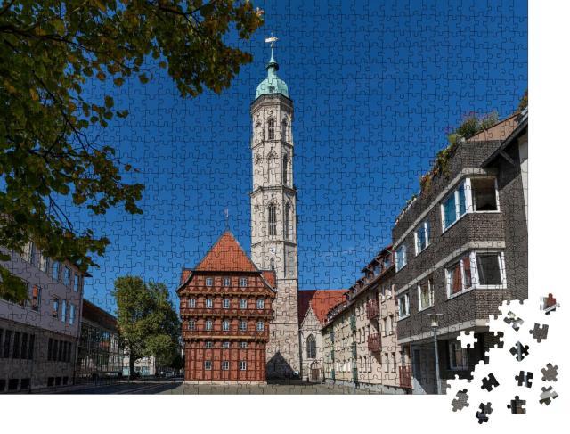 """Puzzle 1000 Teile """"Historisches und modernes Braunschweig, Deutschland"""""""