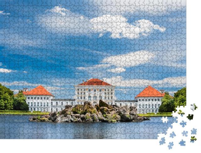 """Puzzle 1000 Teile """"Nymphenburger Schlosspark, München, Deutschland"""""""