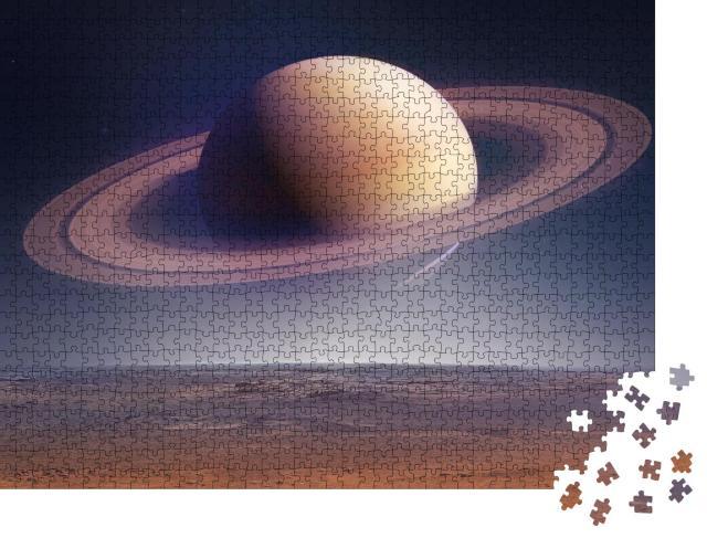 """Puzzle 1000 Teile """"Fantasy: Saturn """""""