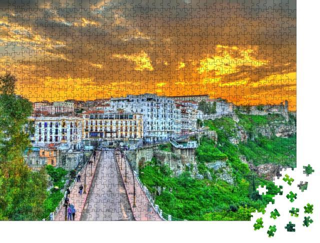 "Puzzle 1000 Teile ""Constantine im Sonnenuntergang, Algerien"""