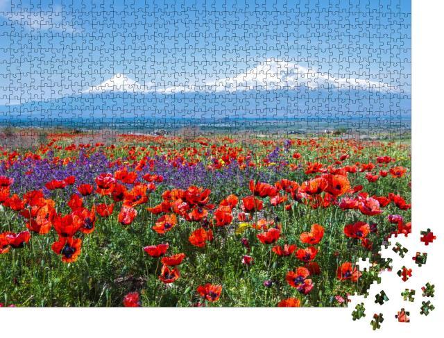 """Puzzle 1000 Teile """"Der Berg Ararat in der Türkei """""""