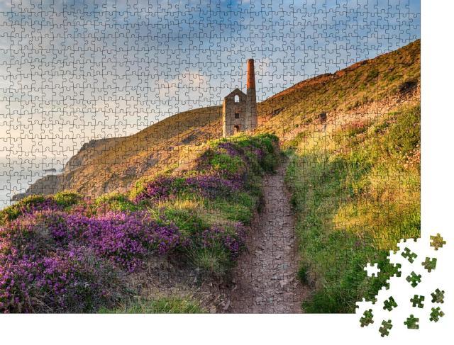 "Puzzle 1000 Teile ""South West Coast Path an der Küste Cornwalls"""