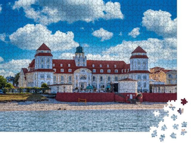 """Puzzle 1000 Teile """"Strand in Binz auf der Insel Rügen"""""""