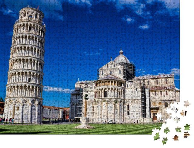 "Puzzle 1000 Teile ""Piazza dei Miracoli mit Dom und schiefem Turm in Pisa, Italien"""