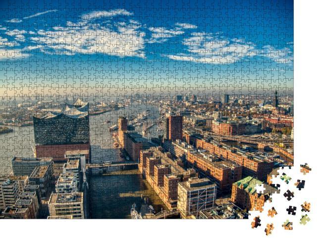 """Puzzle 1000 Teile """"Elbphilharmonie, Hamburg"""""""