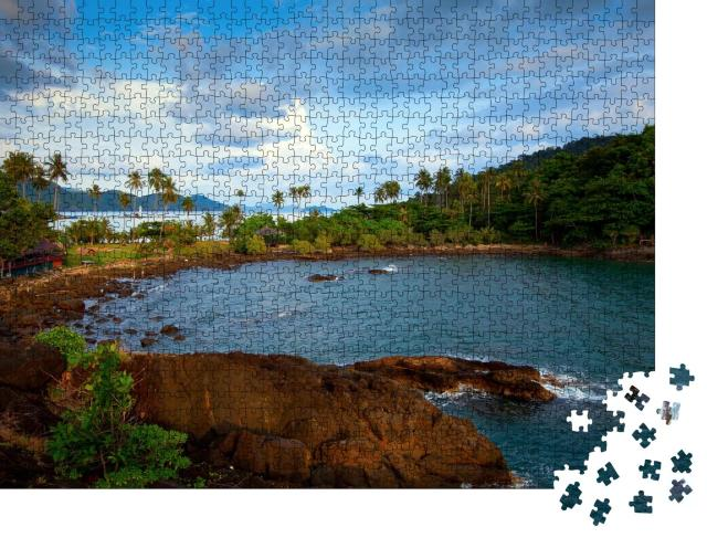 """Puzzle 1000 Teile """"Insel Ko Chang, Thailand"""""""