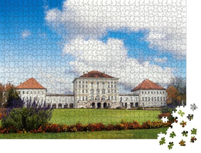 """Puzzle 1000 Teile """"Das Schloss Nymphenburg in München"""""""