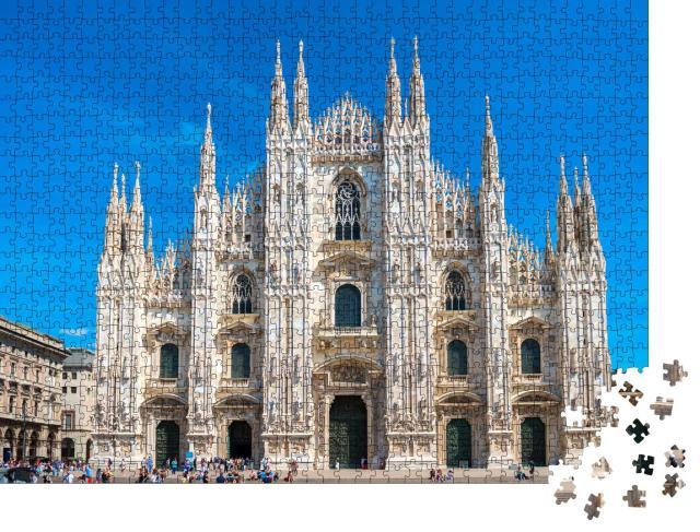 """Puzzle 1000 Teile """"Der weltberühmte Mailänder Dom, Italien"""""""