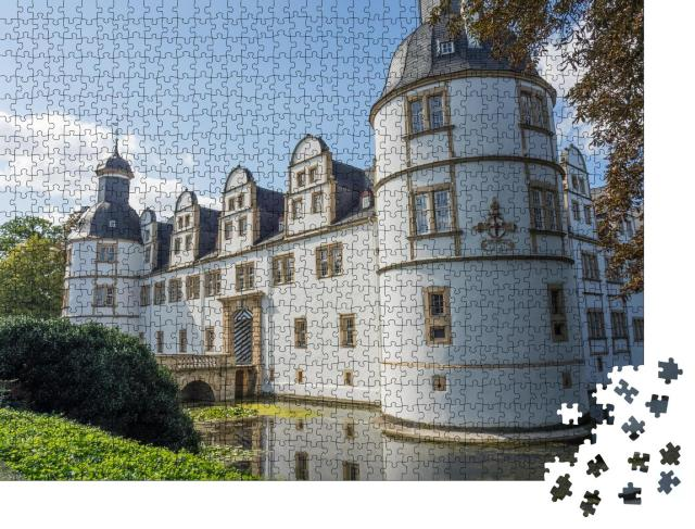 """Puzzle 1000 Teile """"Schloss in Paderborn"""""""