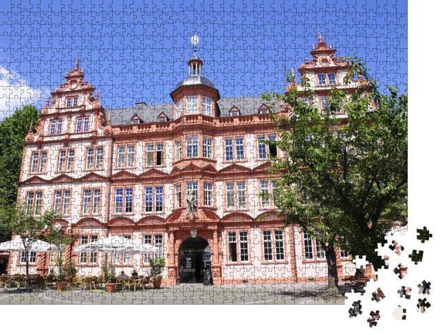 """Puzzle 1000 Teile """"Gutenberg-Museum in Mainz, Deutschland"""""""