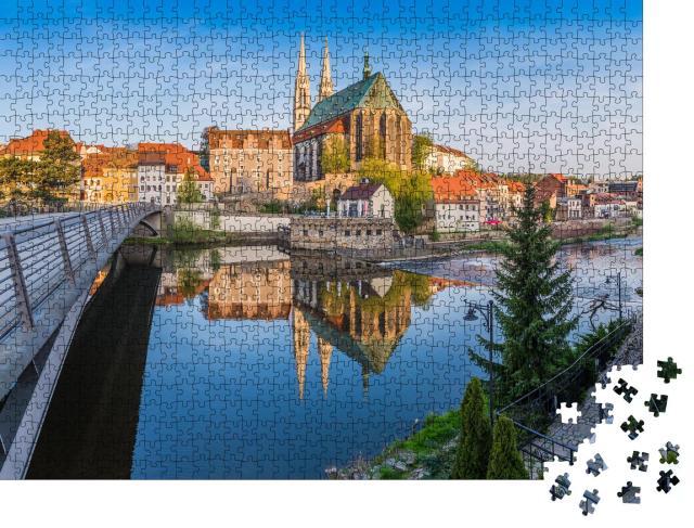 """Puzzle 1000 Teile """"Blick auf Görlitz, Deutschland"""""""