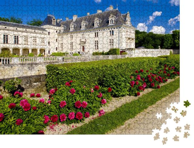 """Puzzle 1000 Teile """"Chateau de Breze, Pays-de-la-Loire, Frankreich"""""""