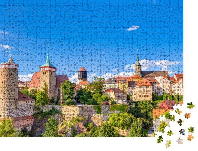 """Puzzle 1000 Teile """"Historische Altstadt von Bautzen in Sachsen, Deutschland"""""""