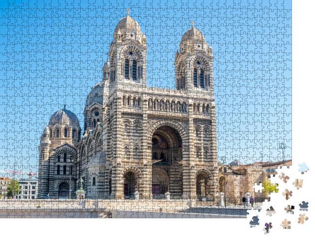 """Puzzle 1000 Teile """"Kathedrale von Marseille, Frankreich"""""""