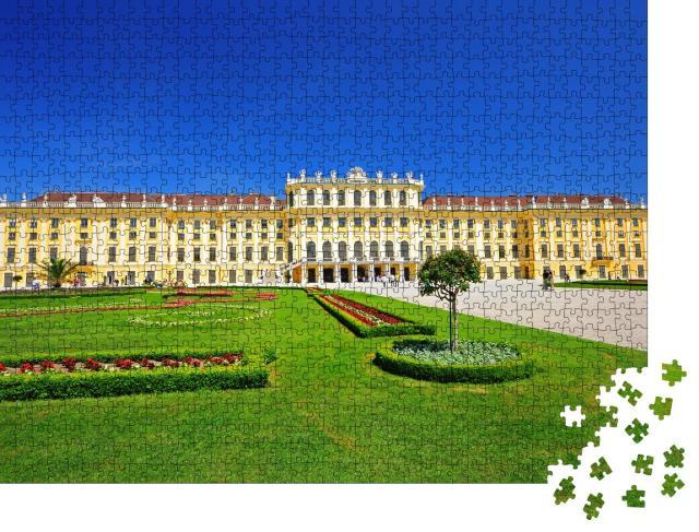 """Puzzle 1000 Teile """"Schloss Schönbrunn in Wien, Österreich"""""""