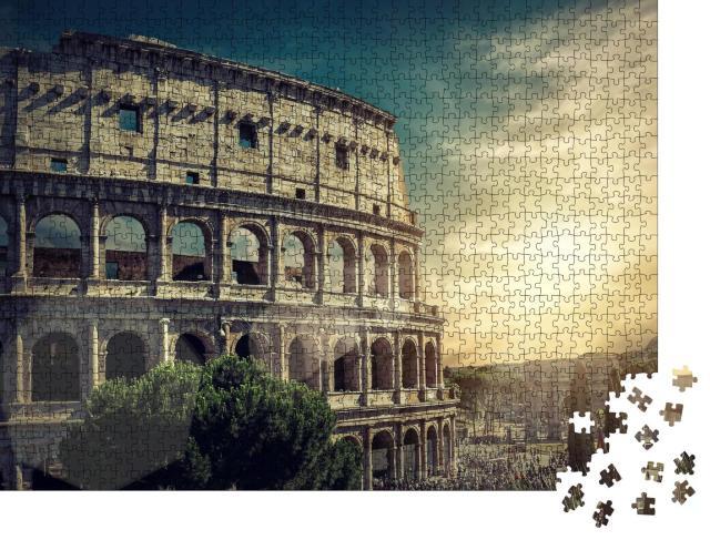 """Puzzle 1000 Teile """"Kolosseum, Rom"""""""