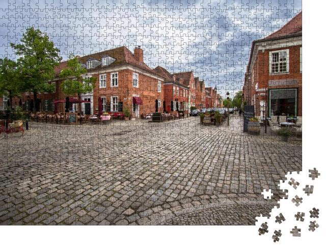 """Puzzle 1000 Teile """"Das Holländische Viertel der Stadt Potsdam, Brandenburg, Deutschland"""""""