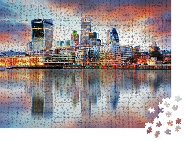 """Puzzle 1000 Teile """"Londoner Skyline"""""""