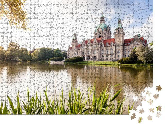 """Puzzle 1000 Teile """"Hannover, Deutschland"""""""