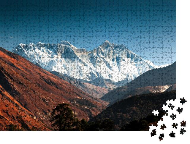 """Puzzle 1000 Teile """"Everest, Lhotse und Nuptse, Nepal"""""""