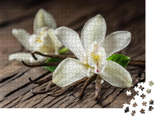 "Puzzle 1000 Teile ""Vanilleorchidee"""