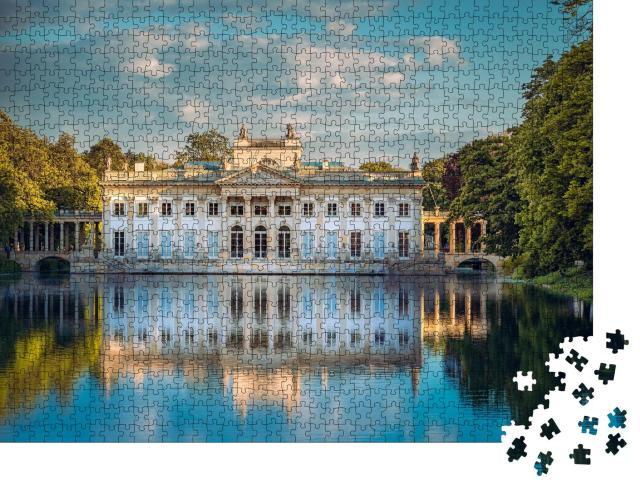 """Puzzle 1000 Teile """"Königlicher Palast im Lazienki Park, Warschau, Polen"""""""