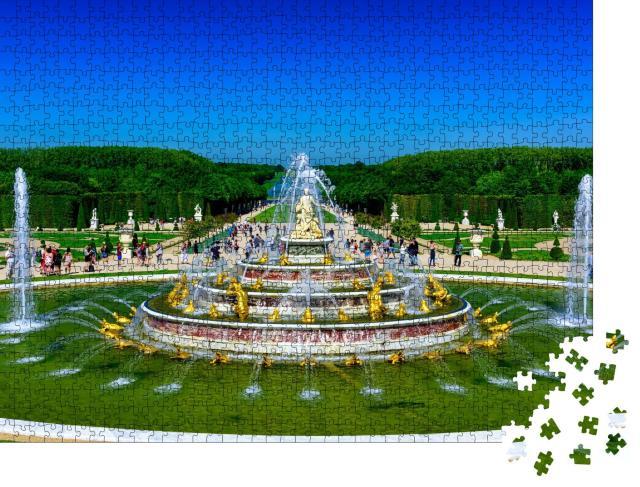 """Puzzle 1000 Teile """"Der Latona-Brunnen im Garten von Versailles, Frankreich"""""""