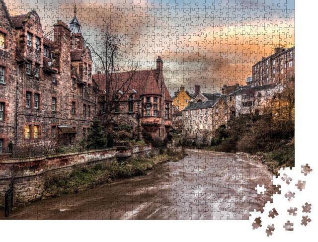 """Puzzle 1000 Teile """"Dean Dorf in Edinburgh, Schottland"""""""