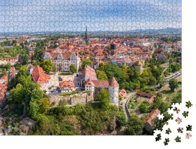 """Puzzle 1000 Teile """"Wunderschöner Blick auf Bautzen, Deutschland"""""""