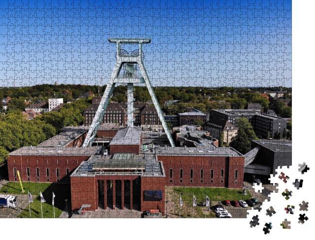 """Puzzle 1000 Teile """"Stadt Bochum: Industriekultur mit ehemaliger Zeche, Deutschland"""""""
