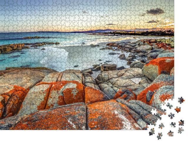 """Puzzle 1000 Teile """"Ostküste von Tasmanien in Australien"""""""