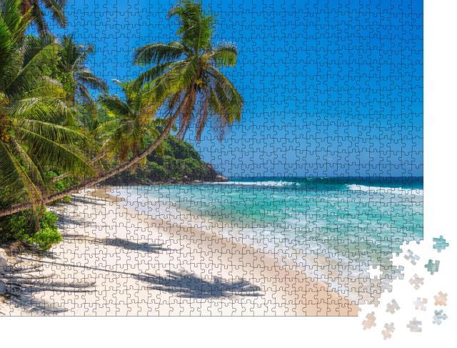 """Puzzle 1000 Teile """"Karibisches Strandparadies auf Jamaika"""""""