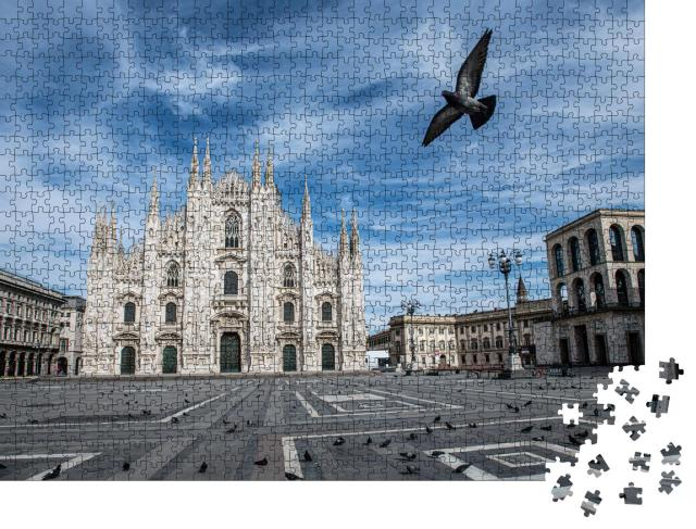 """Puzzle 1000 Teile """"Fassade des Doms von Mailand"""""""