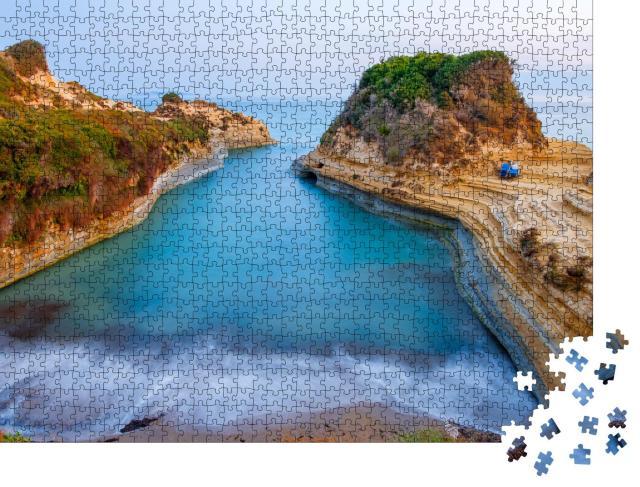 """Puzzle 1000 Teile """"Strand von Canal d'Amour, Korfu, Griechenland"""""""