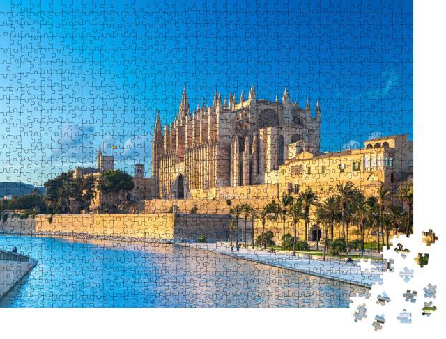 """Puzzle 1000 Teile """"Kathedrale von Palma de Mallorca"""""""