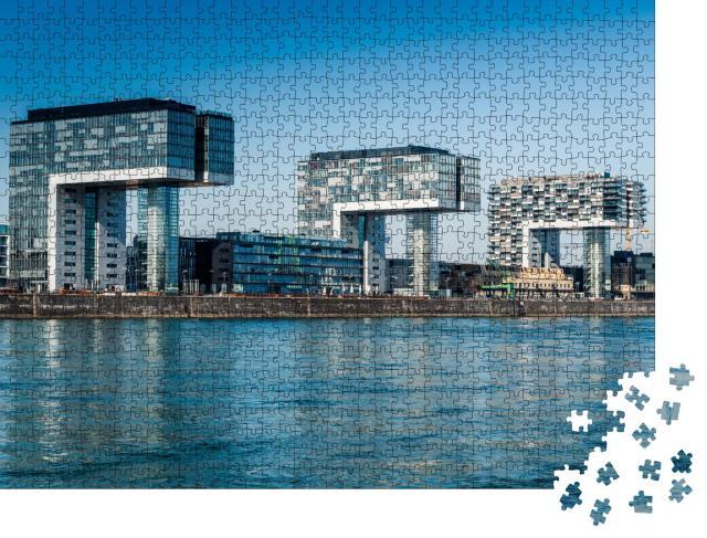 """Puzzle 1000 Teile """"Stadt Köln, Deutschland"""""""