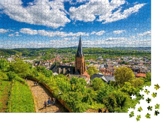 """Puzzle 1000 Teile """"Marburg an der Lahn"""""""