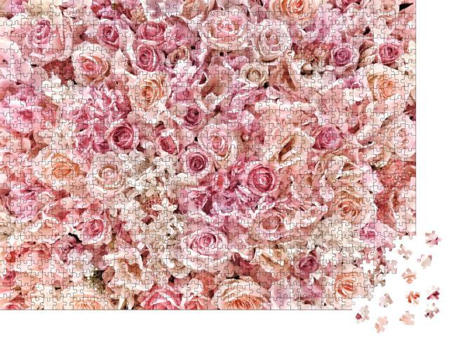 """Puzzle 1000 Teile """"Wundervoll duftende Sommerblumen"""""""