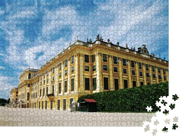 """Puzzle 1000 Teile """"Schloss Schönbrunn, Wahrzeichen von Wien"""""""
