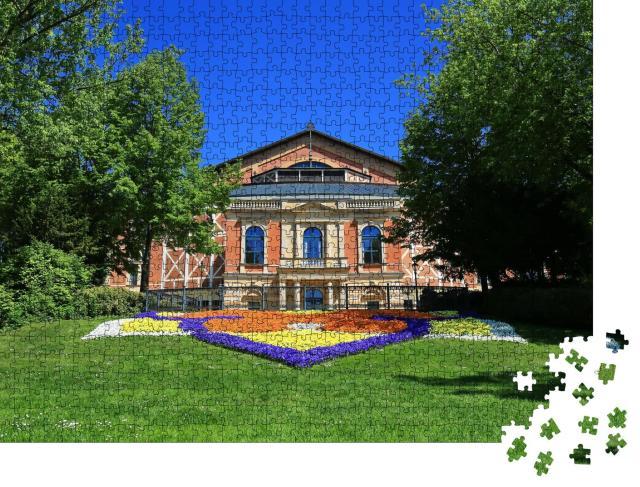 """Puzzle 1000 Teile """"Villa in Bayreuth, Deutschland"""""""