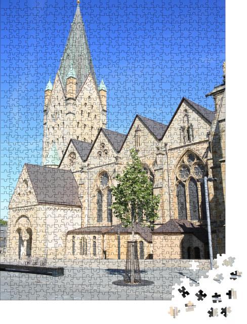 """Puzzle 1000 Teile """"Dom zu Paderborn, Westfalen, Deutschland"""""""