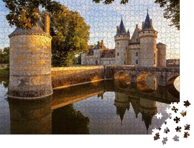 """Puzzle 1000 Teile """"Sully-sur-loire, Frankreich: Schloss im Loire-Tal"""""""