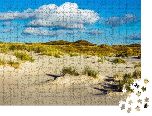 """Puzzle 1000 Teile """"Dünen auf der Nordseeinsel Amrum, Deutschland"""""""
