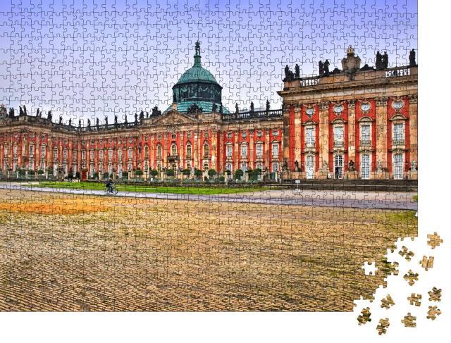 """Puzzle 1000 Teile """"Neues Palais im Park Sanssouci, Potsdam"""""""